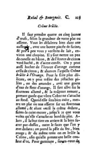 Buchseite aus altem Buch.